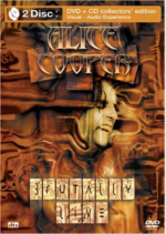 Alice Cooper - Brutally Live DVD / CD