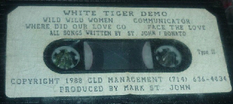 WHITE TIGER demo 1988
