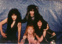 WASP line-up 1982