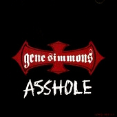 GENE SIMMONS - Asshole promo CDS front